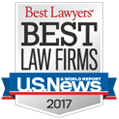 2017 | BEST LAW FIRMS | US NEWS | WORLD REPORT | BEST LAWYERS